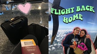 FLYING HOME AFTER 5 MONTHS!😍 | Daila Carisa