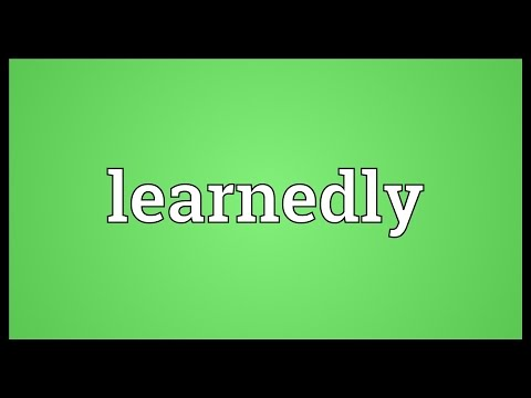 Header of learnedly