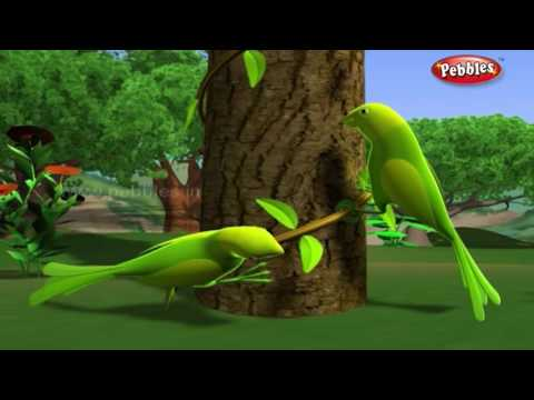 Lazy Parrots | हिंदी कहानी | 3D Moral Stories For Kids in Hindi | Animal Stories in Hindi thumbnail