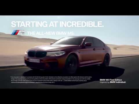 All new BMW M5 Competition 2018