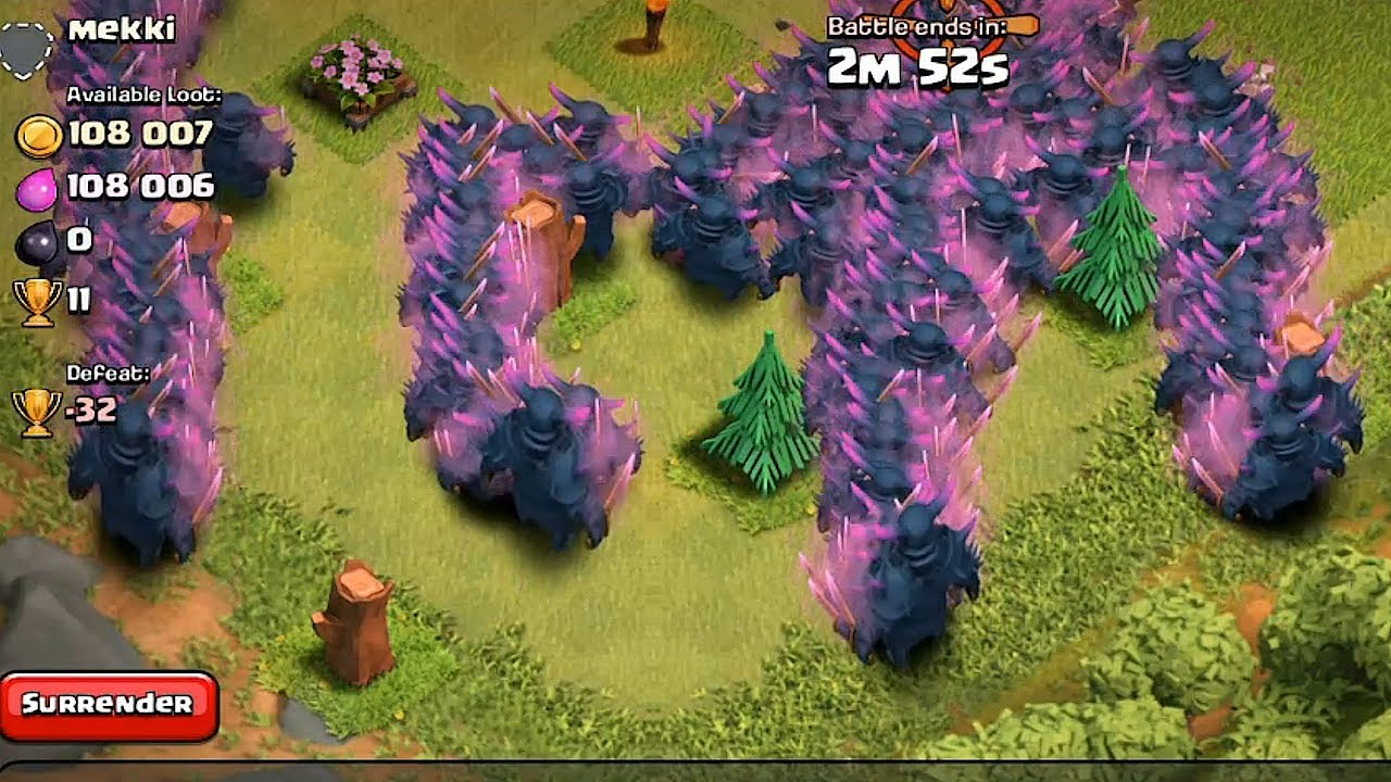 coc clash of clans lvl 5 dragons gameplay
