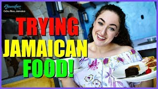 Trying Jamaican Food in Jamaica!