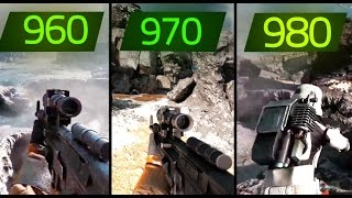 STAR WARS BATTLEFRONT GTX 980 vs GTX 970 vs GTX 960