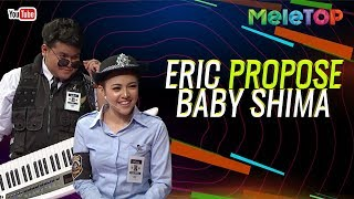 "Eric Floor 88 ""propose"" Baby Shima | MeleTOP | Nabil & Farah Nabilah"
