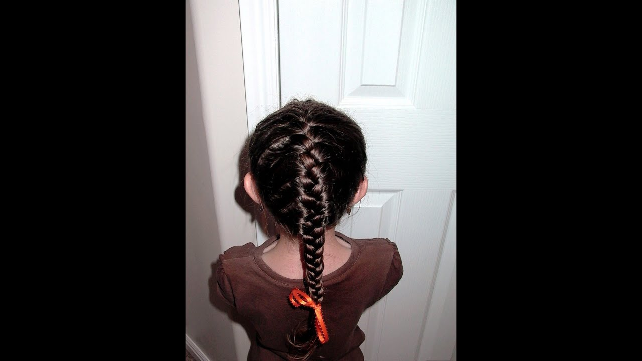 How To French Braid Pretty Hair Is Fun YouTube