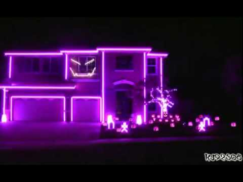 Halloween Light Show 2011 - Party Rock Anthem