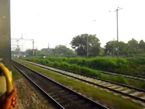 Action packed Morning of Roza Junction rail yard (from flying...