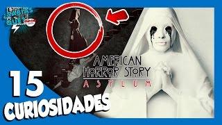 15 Curiosidades American Horror Story Asylum  - ¿Sabías qué..? #68   Popcorn News