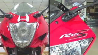 #Bikes@Dinos: Suzuki Gixxer SF vs Yamaha R15-S (with V2.0) Comparo, Exhaust Notes