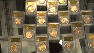CoinWeek Classic: Kagin Unveils Saddle Ridge Buried Treasure Gold Coins at ANA National Money Show.
