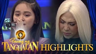"""Tawag ng Tanghalan: Vice Ganda becomes emotional after hearing the song """"Anak"""""""