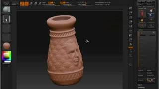 ZBrush Tutorials (Creating a Vase)