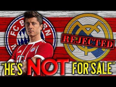 BREAKING: Bayern Munich REJECT Real Madrid's HUGE Bid For Lewandowski! | Transfer Talk thumbnail