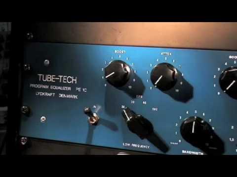 Tube based passive equaliser. TUBE-TECH PE 1C