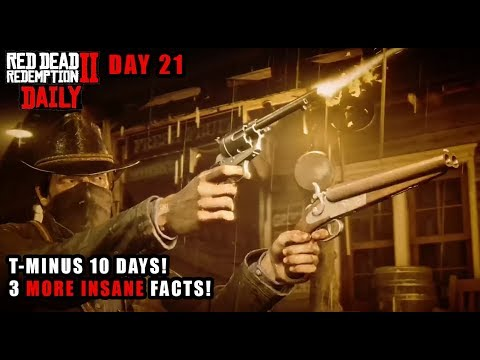 Red Dead DAILY # 21 : 3 MORE Insane Little Features in Red Dead Redemption 2! 10 DAYS TO GO!