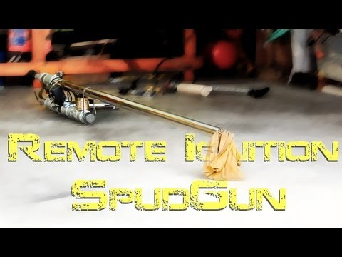 how to make a spud gun ignition system