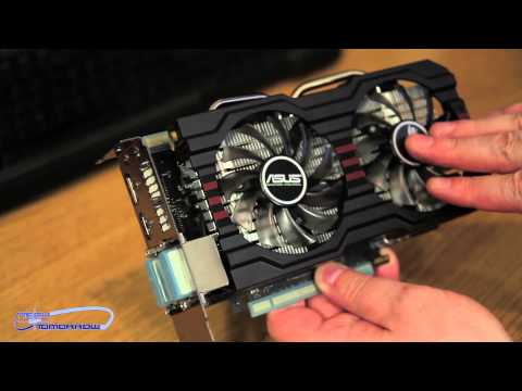 ASUS GTX 650 Ti Boost DirectCU II OC Edition 2GB Video Card Unboxing