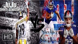 Who's Better?    Juju Smith Schuster Vs Sterling Shepard    **HD Quaity**
