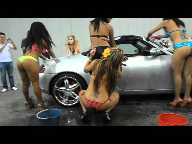 Bikini Car Wash - Auto Tuning Fest 2012