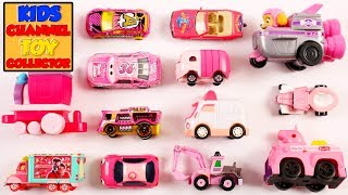 Pink Color Vehicles For Kids Children Babies Toddlers | Colours For Kids | Vehicles For Kids