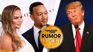 Donald Trump Calls Out John Legend and 'His Filthy Mouthed Wife,' Chrissy Teigen Claps Back