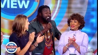 """Maxine Waters """"Reclaiming My Time"""" Performed Live - The View"""