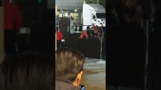 Liv Morgan taunting fans outside of Raw, night after WWE Survivor Series 2018 Los Angeles