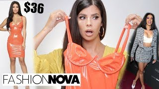 I TRIED $400 WORTH OF CARDI B & FASHION NOVA CLOTHING!