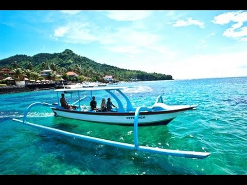 PANTAI CANDIDASA - Beautiful Beach in Bali - Indonesia Tourism Destination [HD]