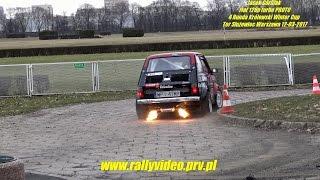 Fiat 126p turbo PROTO - 4 Runda kwc Królewski Winter Cup - Tor Służewiec Warszawa 12-03-2017