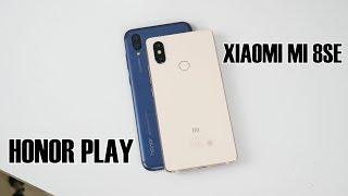 So sánh Honor Play với Xiaomi Mi 8 SE - Nghenhinvietnam.vn