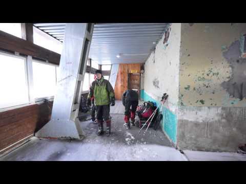 2013-08-04 Elbrus Mir Station During Snow Storm