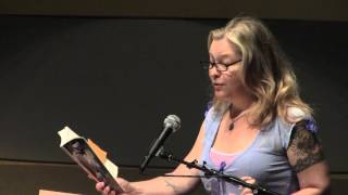 Shawna Kenney at the Writers' Program Publication Party 2014