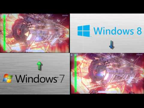 Win7 vs Win8 - 3DMark (2013) Fire Strike. Cloud Gate & Ice Storm Benchmark