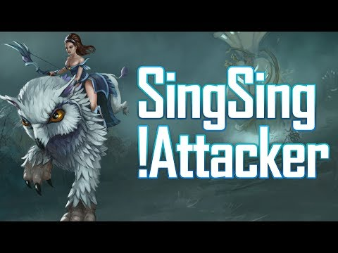 REAL ATTACKER IN MY TEAM - SingSing Dota 2 Highlights