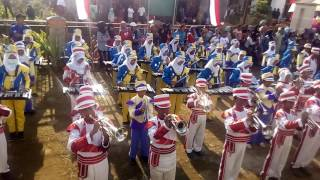 Drum band Zulfikar fatahillah Smp ISLAM 2 PUJON, parade drumband wiyurejo 2016