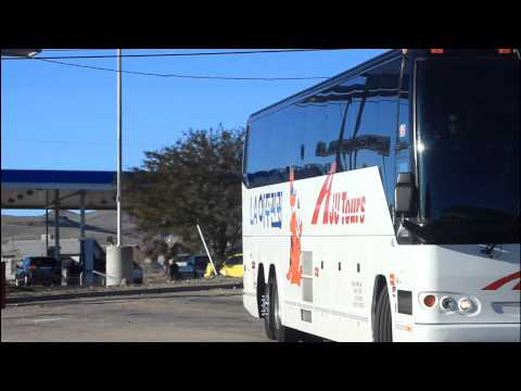 AJU Tour Bus ~ Korean Travel & Tourist Agency ~ Spotted in Kingman AZ