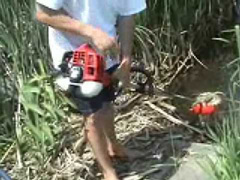 Redmax Underwater Cutter Submersible for golf course and golf ponds