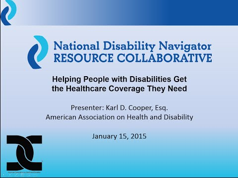 Helping People with Disabilities Get the Healthcare Coverage They Need