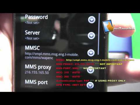 Simple Mobile Google Nexus One Internet and MMS Setup / Fix !!!!