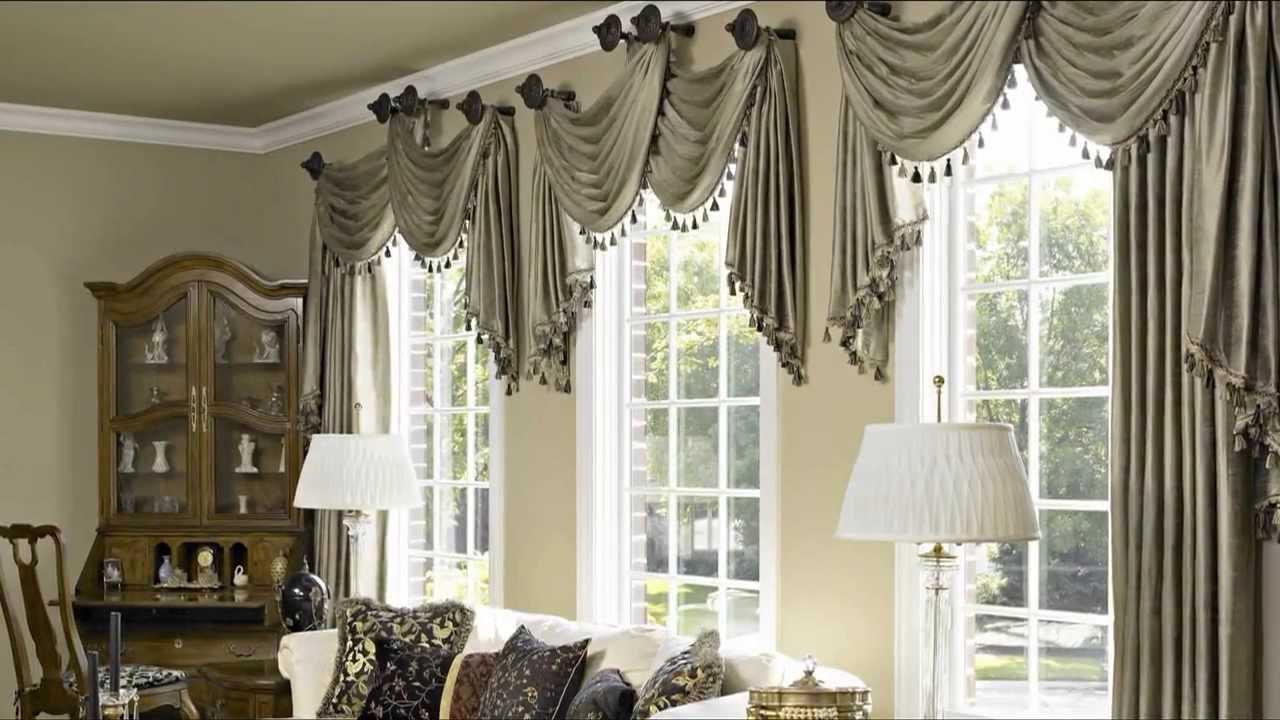 Шикарные шторы для гостиной фото