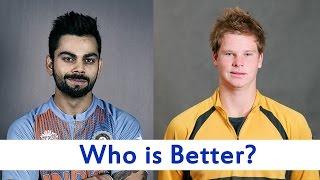 Virat Kohli or Steve Smith — who is better?