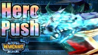 Warcraft 3 - Hero Push #1