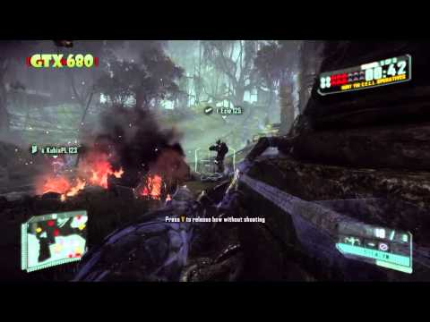 1min de Crysis 3 open beta on GTX 680