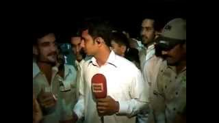 Tv Reporter in Trouble ( PAKISTAN 2012)