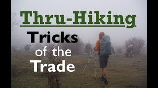 Thru-Hiking Tricks of the Trade