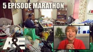 Hoarders Top Episodes MARATHON - Binge Them w/ Dorothy the Organizer! Part 3 | A&E