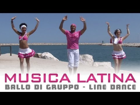 MUSICA LATINA - ballo di gruppo estate 2013 2014 | line dance - bachata salsa cha cha cha merengue Music Videos