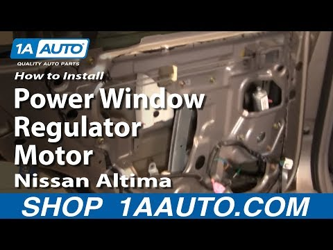 How to install replace rear power window regulator for 02 durango window regulator