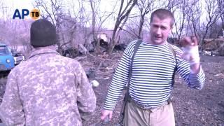 Командир подразделения РУСЬ, на месте гибели Хана.